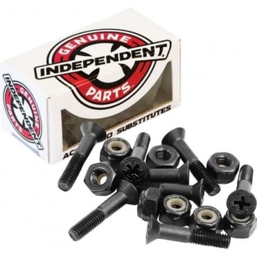 Independent 1 1/4 Phillips Bolts - Black