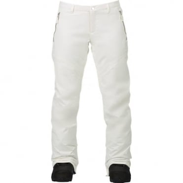 Burton Society Women's Pant - Stout White