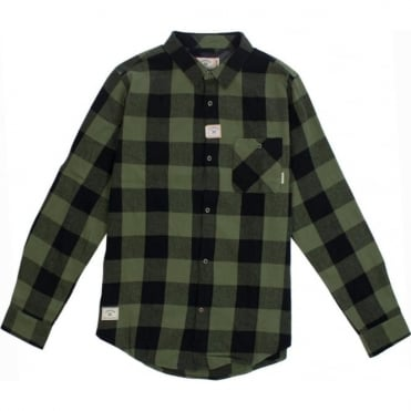 Fourstar Buffalo Flannel L/S Shirt - Olive