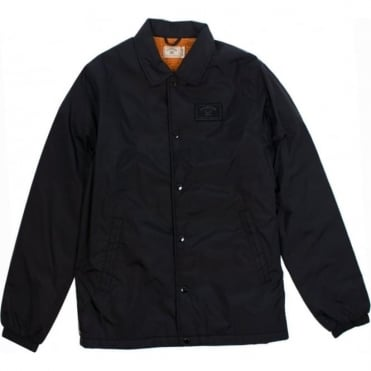 Fourstar Sherpa Coach Jacket - Black