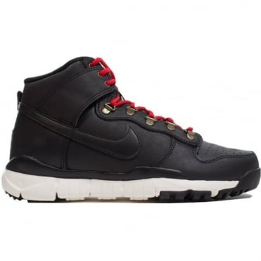 Nike SB Dunk High Shoe - Black/Black/Sail/Ale Brown