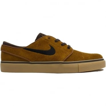 Nike SB Zoom Stefan Janoski Shoe - Hazelnut/Baroque Brown/Gum Light Brown/Black