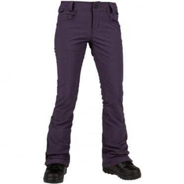 Volcom Battle Stretch Women's Pant - Deep Purple