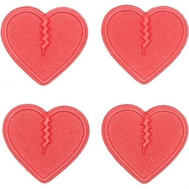 Crab Grab Mini Hearts Stomp Pad - Red
