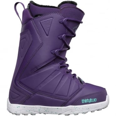Thirtytwo Women's Lashed Snowboard Boot 2017 - Purple