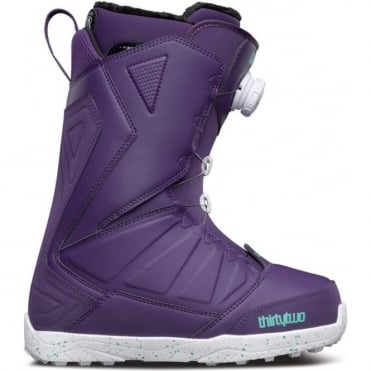 Thirtytwo Women's Lashed Boa Snowboard Boot 2017 - Purple