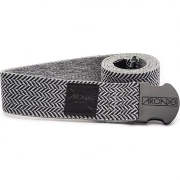 Arcade The Hemingway Belt - Heather Grey