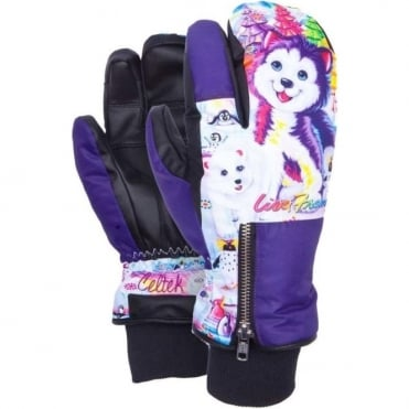 Celtek Women's Hello Operator Mitt - Polar Bear