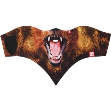 Airhole Standard Resort 2 Layer Facemask - Bear