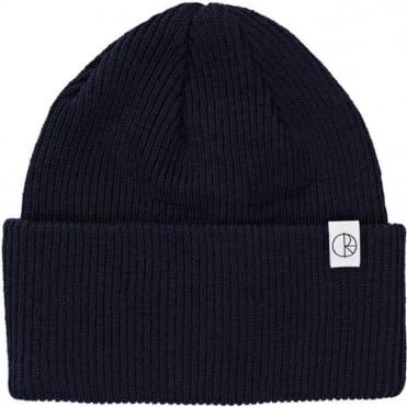 Polar Merino Wool Beanie - Black