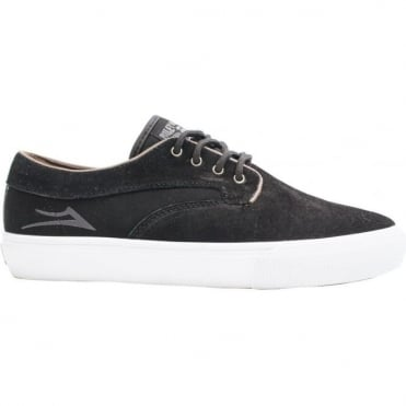 Lakai Riley Hawk Shoe - Black Suede