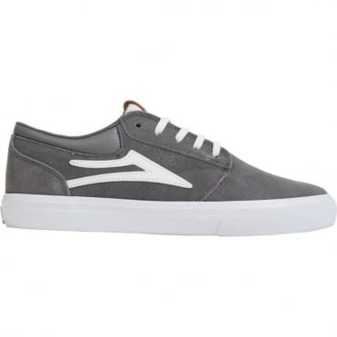 Lakai Griffin Shoe - Grey Suede