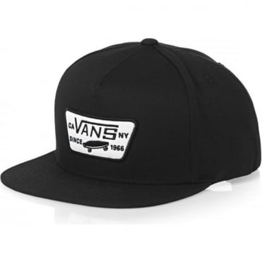 Vans Full Patch Snapback Cap - True Black