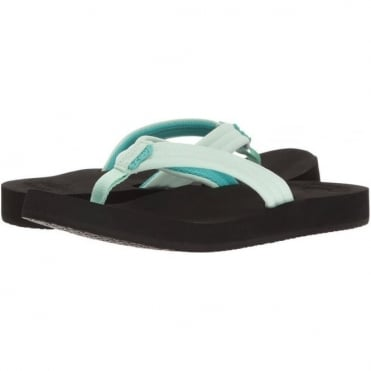 Reef Cushion Breeze Women's Sandals - Black/Mint
