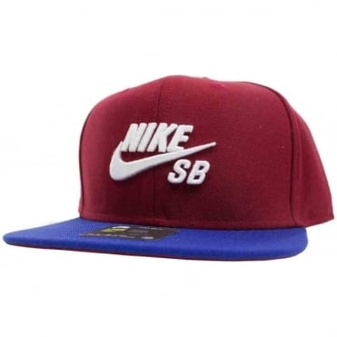 Nike SB Icon Pro Cap - Team Red/Deep Royal Blue/Blk/Wht