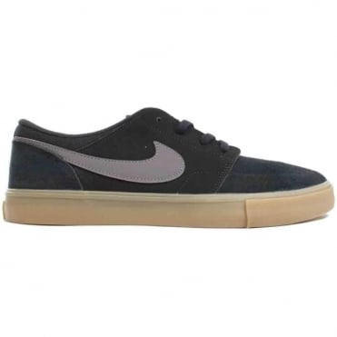Nike SB Portmore II Solar Shoe - Black/Dark Grey