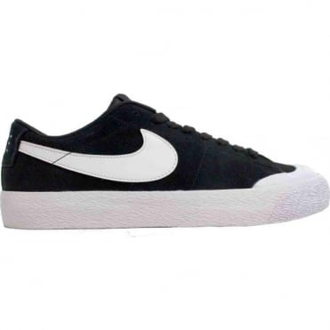 Nike SB Blazer Zoom Low XT Shoe - Black/White-Gum/Light Brown-White