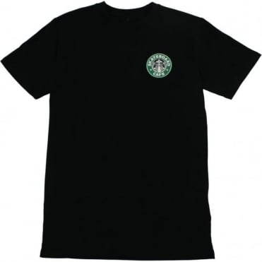 Skateboard Cafe Starf*cks T-Shirt - Black