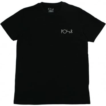Polar Fill Logo T-Shirt - Black