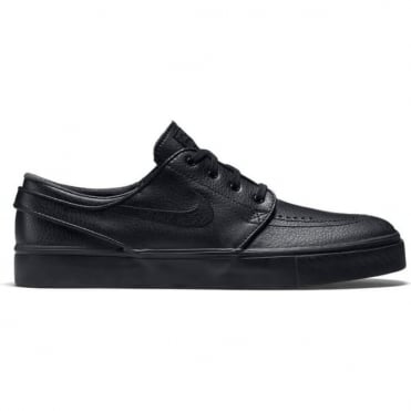 Nike SB Zoom Stefan Janoski Leather – Black