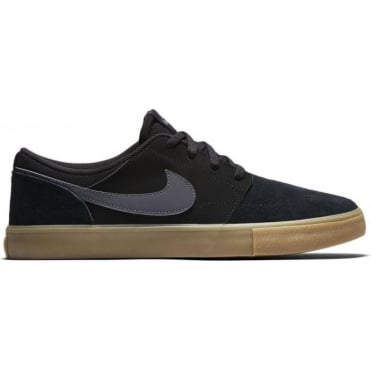 Nike SB Solarsoft Portmore II - Black / Dark Grey