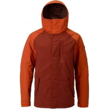 Burton Gore-Tex Radial Snowboard Jacket - Clay/Fired Brick