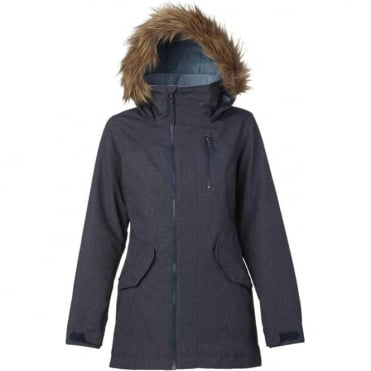 Burton Hazel Women's Snowboard Jacket - Denim
