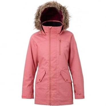 Burton Hazel Women's Snowboard Jacket - Dusty Rose Wax