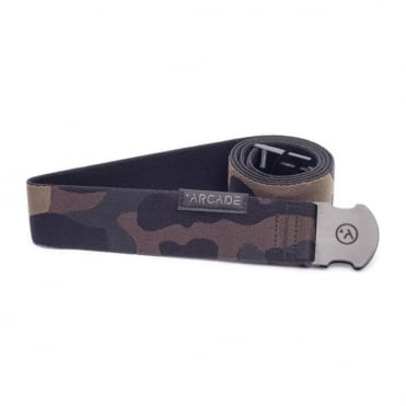Arcade The Sierra Camo Belt - Black/Grey