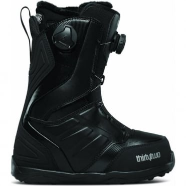 Thirtytwo Lashed Double Boa Women's Snowboard Boot 2018 - Black