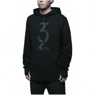 Thirtytwo Marquee Hooded Pullover - Black