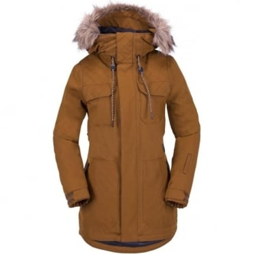Volcom Shadow Insulated Women's Snowboard Jacket - Copper
