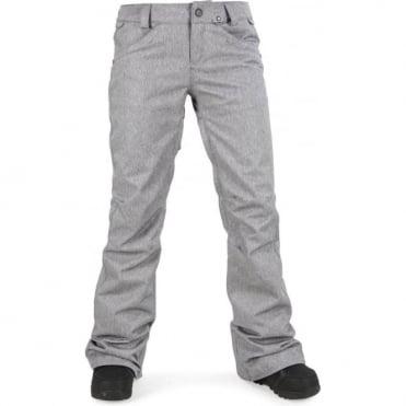 Volcom Species Strech Women's Pant - Heather Grey