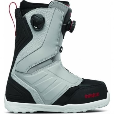 ThirtyTwo Lashed Double Boa Snowboard Boot 2018 - Grey/Black