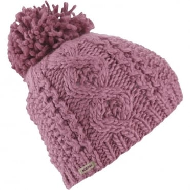 Burton Katie Joe Beanie - Dusty Rose
