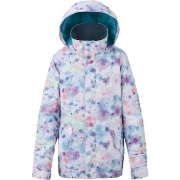 Burton Elodie Girls Jacket - Drip Dye