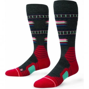 Stance Bridgeport Women's Snowboard Socks - Black