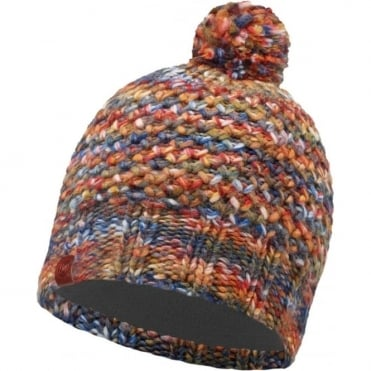 Buff Margo Beanie - Orange/Grey Vigore