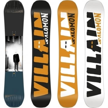 Salomon The Villain Snowboard 2018 - 155cm