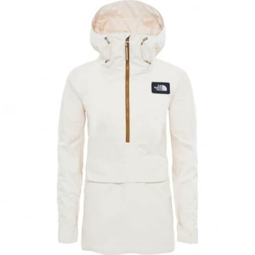 The North Face Women's Tanager Anorak Jacket - Buttercream Ivory