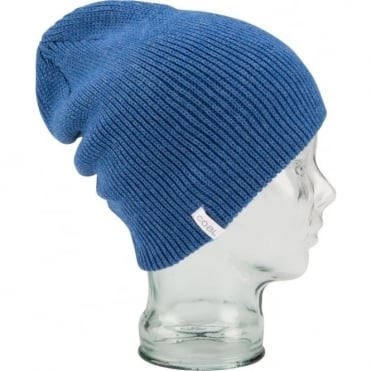 Coal The Frena Solid Beanie - Heather Royal Blue