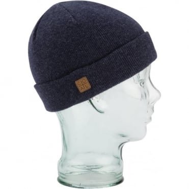 Coal The Harbor Beanie - Heather Navy