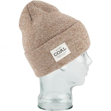 Coal The Uniform Beanie - Light Brown Marl