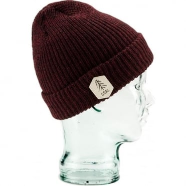 Coal The Scout Beanie - Burgundy