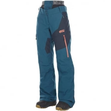 Picture Seen Women's Pant - Petrol Blue