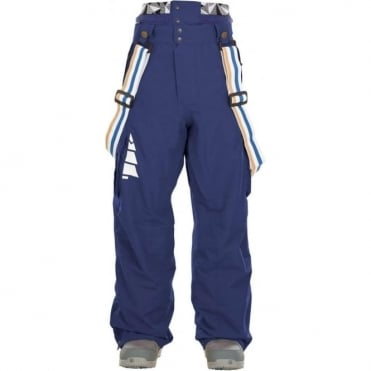 Picture Panel Pant - Dark Blue