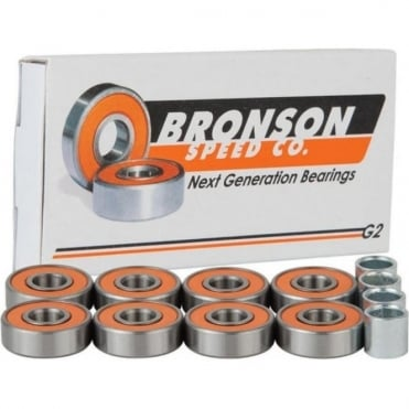 Bronson Speed Co. Bearings G2 - Silver