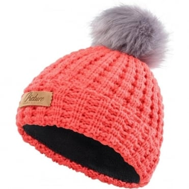 Picture Keene Beanie - Coral