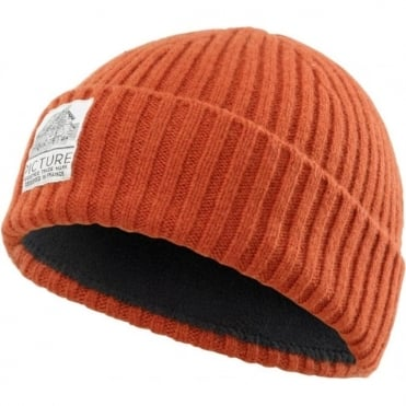 Picture Ship Beanie - Brick