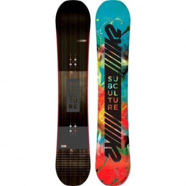 K2 Subculture Snowboard 2018 - 156cm